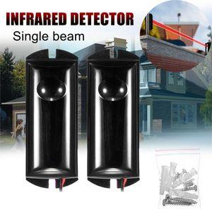 Un seul faisceau infrarouge Détecteur d'alarme Barrière capteur photoélectrique de sécurité Accueil