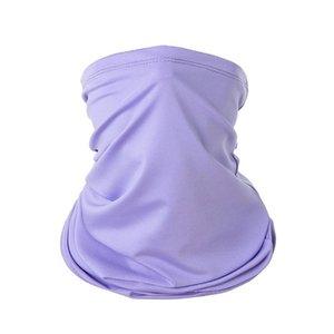 Cold Ice Silk Turban Face Cover Face Sunscreen Cover Scarf Magic Turban Summer Sunscreen Outdoor Riding Towel