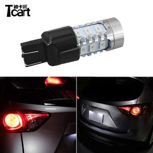 Tcart T20 7443 LED Car Brake Lights For CX-5 2013 2014 2020 2020 Parking Break Lamps For Car Accessories
