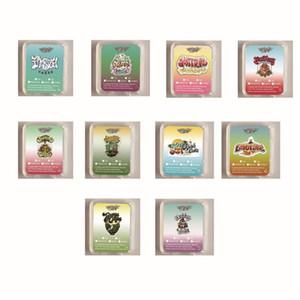garçons Jungle plastique carte SD étui d'emballage avec des autocollants concentré de cire containersNotre cire Shatter cas London livre gâteau Gelatti