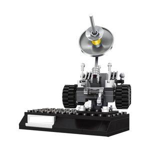 Oyuncak Araç yxlsLu jjxh için Serisi Hediyeler Techinc Blokları Uydu Eğitim Ay Modeli Çocuk Şehir Yaratıcı Binası 96pcs Uzay gemisi
