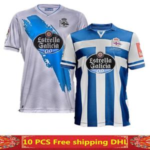 NOUVEAU 20 21 DEPORTS DE LA CORUNA SOCCER SOCCERY JERSEYS HOME TROISIÈME KIT MOLLEJO 2020 2021 M.Kone Sabin Aketxe Santos Football Shirt