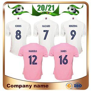 20 21 HAZARD real madrid Woman soccer jersey 2020 BENZEMA BALE JOVIC MENDY Woman Shirt VINICIUS JR. ladies Football uniform