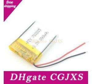 Alta Qualidade 702.025 3 .7v bateria de lítio built-in carregador de bateria 300mAh 4 .2v Para Isqueiro Leitor Produção Industrial 7 * 20 * 25 milímetros