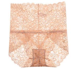 New sexy Transparent panties Lace women underwear High waist lingerie Slim Hip lift bielizna damska fashion Breathable99