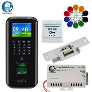 Fechadura magnética / IP RFID Fingerprint TCP Controle de Acesso Atendimento sistema biométrico Software Quadro Glass Door Set eletrônico