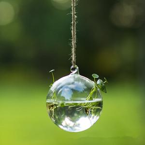 Free Shipping Different Size Transparent Glass Pendant Diameter=8cm 10cm 12cm 15cm Christmas Glass Hanger Wedding Decoration Ter