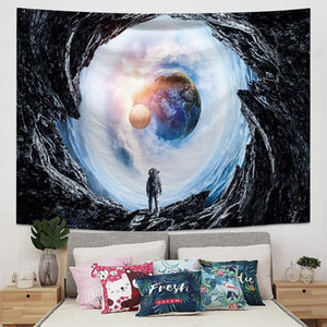 Wall Hanging Mandala Psychedelic Star Constellation Galaxy Space Indian Bohemian Boho Hippie Yoga Tapestries Beach Throw Blanket Ho