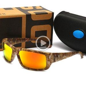 Realtree Camo Marca Dener Sunglasses Man Mulheres Ciclismo Óculos clássico Dener Óculos 580P Pesca Toldos Equitação Praia Óculos