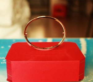 love Titanium Steel gold silver rose gold with diamonds bracelet Bangles Women Men Screw Screwdriver Bracelet Couple Jewelry for lover