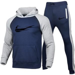 Ajax Sportswear 2020 New Track Terno Men's Outono e Inverno Sportswear Hooded Jacket Solto Mulheres Pullover Grande Casaco Grande Calças