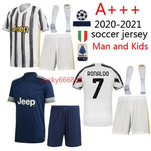 2020 2021 adult and kids kit+socks soccer jersey 20 21 football jerseys Children and man football kits Maillot de foot