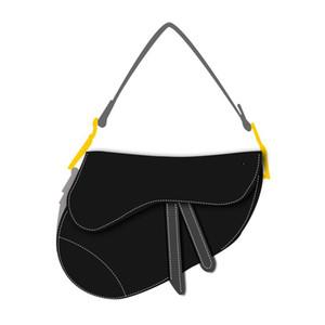 2020 neue Damentaschen Sattel Vintage-Satteltasche Crossover-Umhängetasche / Handtasche Stern Berühmtheit spornte gestickte Schultertasche 545