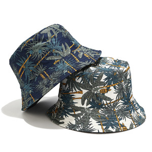 두 측 버킷 캡 남성 여성 버킷 모자 힙합 어부 파나마 모자면 야외 여름 캐주얼 스웨그 밥 바이저