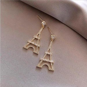 Hot Sale European and American fashion trend retro court style love head earrings earrings female retro brass