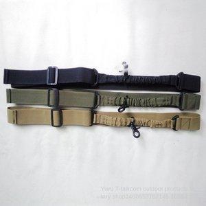 QyNzW Outdoor cinto de nylon tático único ponto correia arma tarefa corda hu wai sheng Tactical ropetraining corda arma tecida