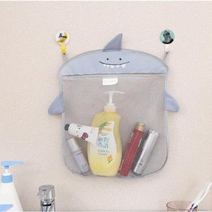 Baby Bathroom Mesh Bag for Bath Toys Bag Kids Basket for Sand Toys Beach Storage Cartoon Animal Shapes Waterproof Cloth Net