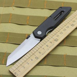 8Cr13 steel G10 handle folding knife outdoor camping folding knife self-defense wild survival climbing fishing pocket fruit knif