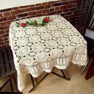 IBANO Handmade Crochet Coasters Cotton Tabela Pano Copa Mat Placemat Crocheted Toalha Vintage
