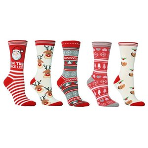 Cotton Socken Antiseptische Cute Designs weiches bequemes Weihnachtssocken High-Quality Mittelrohr Breathable Anti-Friction