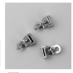 2020 Wholesale electric curtain rail lock Shower curtain rail clamping lug buckle Rail fastener end clip