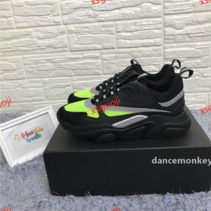 Black hococal Sneakers Calfskin Trainers Classical Black Men Women Flat Canvas Sneaker Retro Patchwork Luxury Casual Sneaker Wholesale