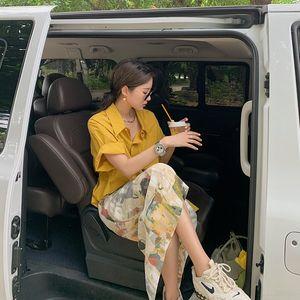 louiD 2020 serie di celebrità estate nuova yPfFK indossare per avere l'olio gonna dipingere una tazza della pittura a olio di arte capolavoro Mojito skirt online