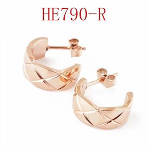 Pendientes de diseño para mujer Pendientes de acero inoxidable Pendientes de amor Pendientes Joyería Moda Oreja Anillos Des BooCle D'Oreilles 2020