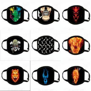 Alloween Orror Frigtening Gost Çağırım 2 Nun Prank Partiyi Maskesi Alloween Orror makyaj maske T9I0098 # 709 Malzemeleri