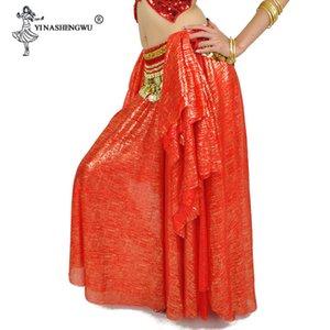 New Belly Dance Skirt Hot Stamping Belt Skirt Belly Dance Costume Desempenho Bellydance por Mulheres