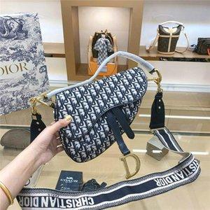 twill jacquard tela tendenza stilista Dior moda di lussosella borsa tracolla progettista tote ins partito di 25CM borse Bayswater 22