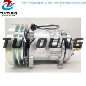 Alta calidad ac automático del compresor SD7H15 2PK 152mm SD 4609
