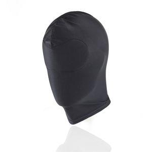 Fetisch Hood Sexy Bdsm Spielzeug Offener Mund Augen Bondage-Partei Cosplay Slave Bestrafen Kopfbedeckungen Mask - Adult Game Sex Produkte