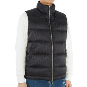 20FW Hommme Obliique Jacquard Nuptse Vest Hiver chaud Fashion Coats Down Jacket Outwear HFLSYRF100