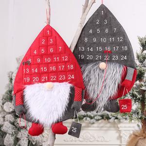 Nuova Decorazioni di Natale nordico Foresta Vecchio Calendario Rudolph conto alla rovescia Calendario creativo all'ingrosso 2021 nuovo anno