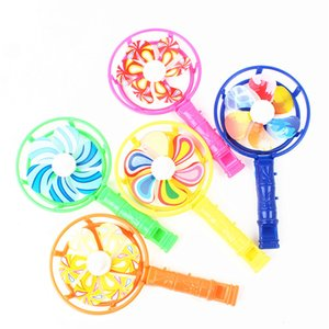 Classic Plastic Colorful Whistle Windmill Festival Birthday Party Gifts Children's School Toys Kids Party Gifts WB1859
