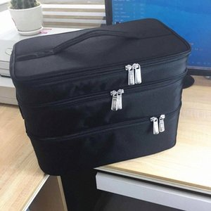 2020 2020 New Ladies Cosmetic Bag Large Capacity Three Layer Womens Cosmetic Bag Multi Function Outdoor Travel Portable Storage IM5B#