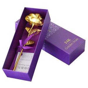 Fleurs romantique Led Cérémonie artificielle Beast Verre Le mariage pour Rose avec la lumière et de couleur rose Beauté de Noël BXwCy yh_pack
