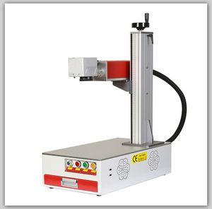2020 Portable 20W 30W 50W desktop fiber laser marking machine for nonmetallic engraver