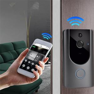 New Wireless Battery Powered Smart Doorbell Camera Smart Video Door Bell DHL free