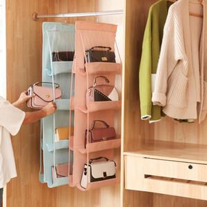 Bag multi-layer Hanging Bag grande capacità di archiviazione in tessuto Oxford hangborsa Organizzatore per Wardrobe