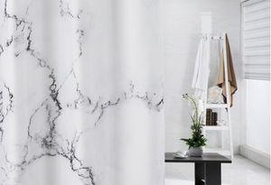 Creative Marble Printing Bathroom Waterproof Shower Curtain 180X200Cm 3D Fashion Marble Printed Shower Curtain Home bathroom accessories