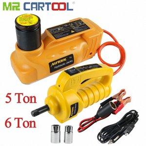 MR CARTOOL 5 \ 6T 12V Jack Jacks voiture électrique hydraulique de levage 33,5 \ 43cm désassemblage automatique des pneus Remplacer réparation électrique Clé Pxgk #