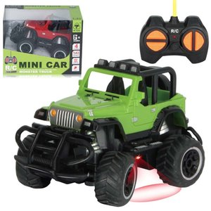 1:43 RC car climbing MINI Car Rock Crawler 4x4 Double Motors Drive Bigfoot Car Remote Control Model Vehicle Toys For Boys Kids