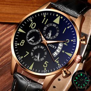 Mens Watch Clock relogio masculino Soxy Montres Hommes Classique Or Calendrier Quartz Hommes montre à quartz lumineux les heures