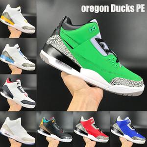 Les nouveaux meilleurs Ducks PE orégon chaussures de basket-ball Jumpman feu rouge denim UNC Varsity royal d'orange laser ciment mens sneakers US 7-13