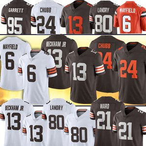 6 Baker Mayfield 13 Odell Beckham Jr Clevelands