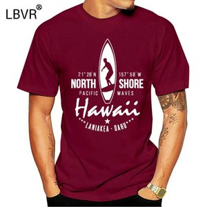 Surfer T-shirt Hawaii North Shore di Oahu Laniakea Beach
