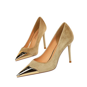 2021 Brand Women Sexy Fetish Thin High Heels Scarpins Female Sweet Heels Pumps Escarpins Talons Stiletto Bridal Shoes Factory Outlets