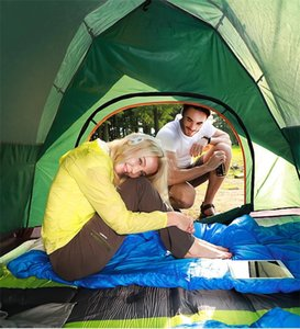 Automatic Glamping Gonflable Barraca Rooftop Outdoor Tenda Family Canvas Waterproof Tente De Camping Trip Tent 4 Person